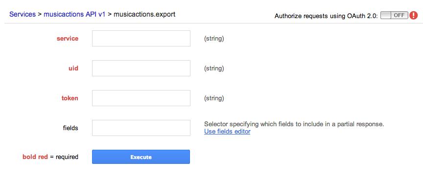 GAE Endpoints API Explorer
