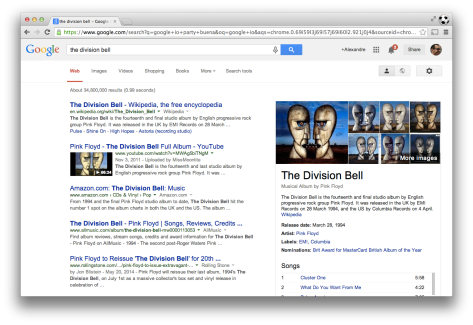 Search results getting richer with Google's Knowledge Graph